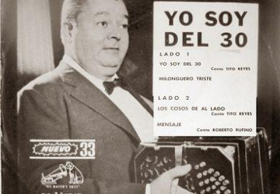 """Orígenes del Tango """"Yo soy del 30"""" (por Eduardo Sibilin)"""